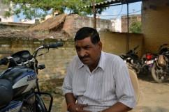 Bijender Sharma, jefe del chowki de Katra Shahadatganj
